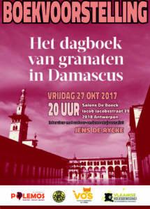 Boekvoorstelling 'Het dagboek van granaten in Damascus'