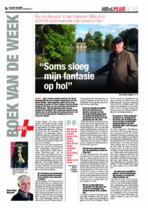 Boek van de week: Yvan Vanden Berghe - Onder geleerden (Het Belang van Limburg)